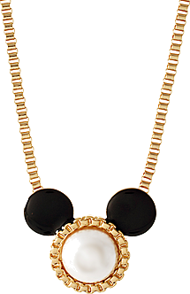 Disney Couture Minnie Mouse Necklace